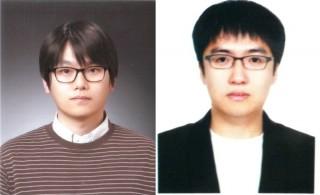박진홍 성균관대 전기전자공학부 교수(왼쪽, 교신저자)와 박형열 연구원(제1저자) - 성균관대 전기전자공학부 제공